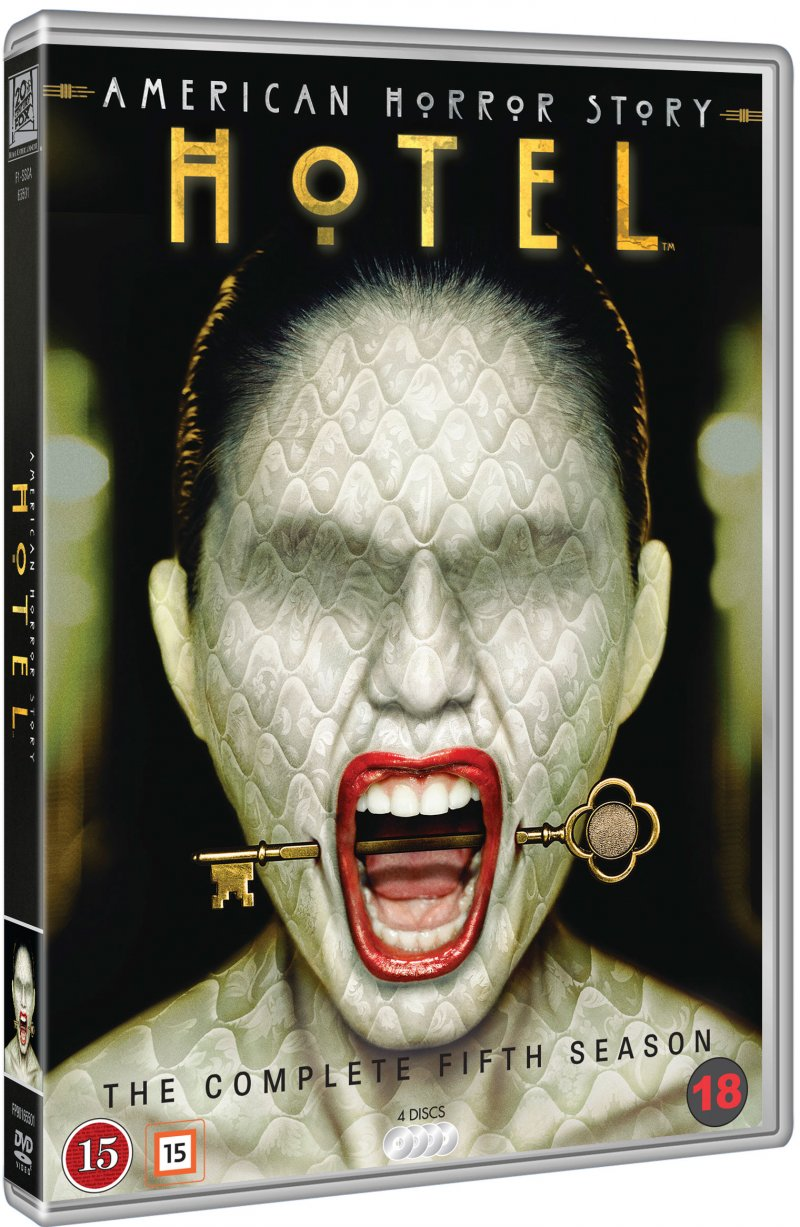 Image of   American Horror Story - Sæson 5 - DVD - Tv-serie