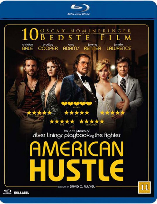 Image of   American Hustle - Blu-Ray