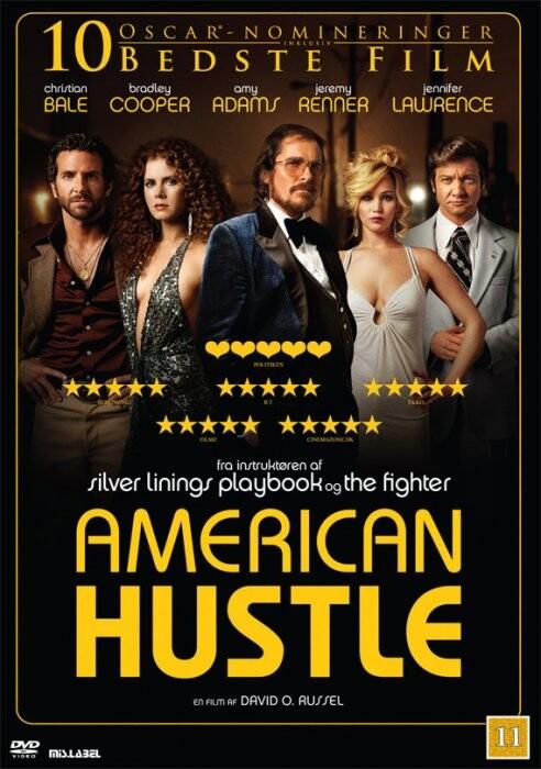Image of   American Hustle - DVD - Film