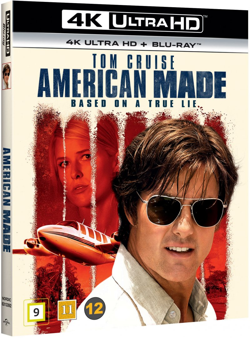 Image of   American Made - 4K Blu-Ray