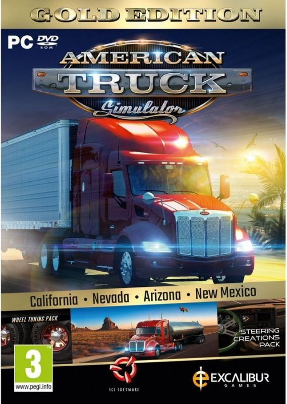 Image of   American Truck Simulator Gold Edition - PC
