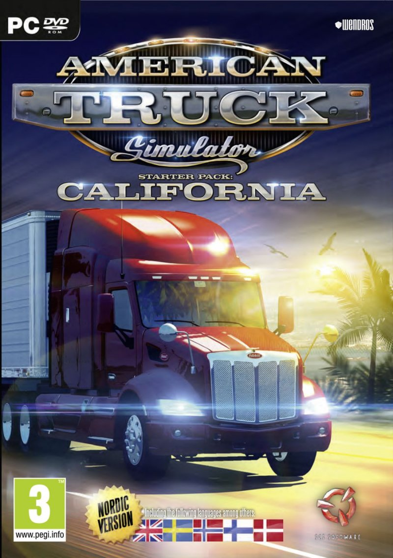 Image of   American Truck Simulator (nordic) - PC