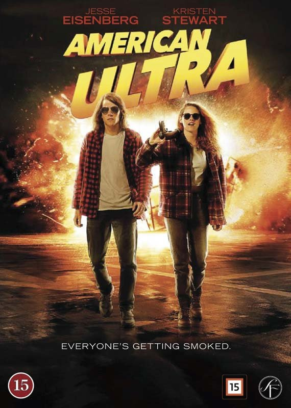 Image of   American Ultra - DVD - Film