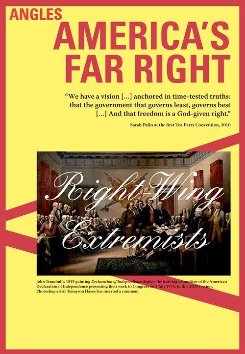Image of   Americas Far Right / I-bog - Anders Daugaard - Bog