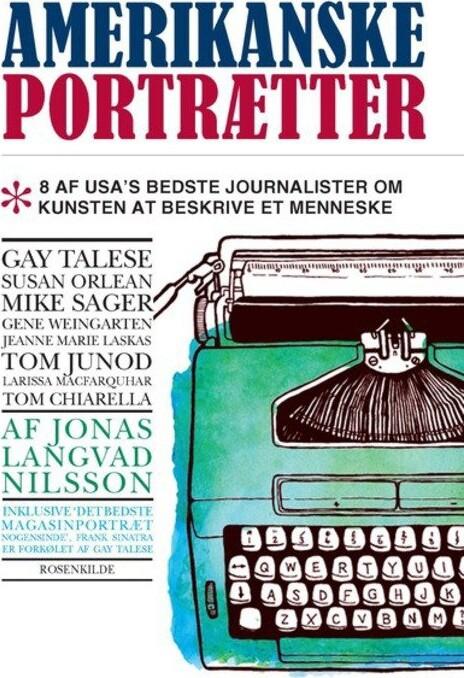 Image of   Amerikanske Portrætter - Jonas Langvad Nilsson - Bog