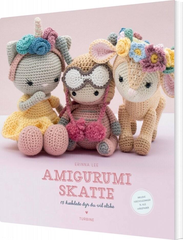 Image of   Amigurumi Skatte - Erinna Lee - Bog
