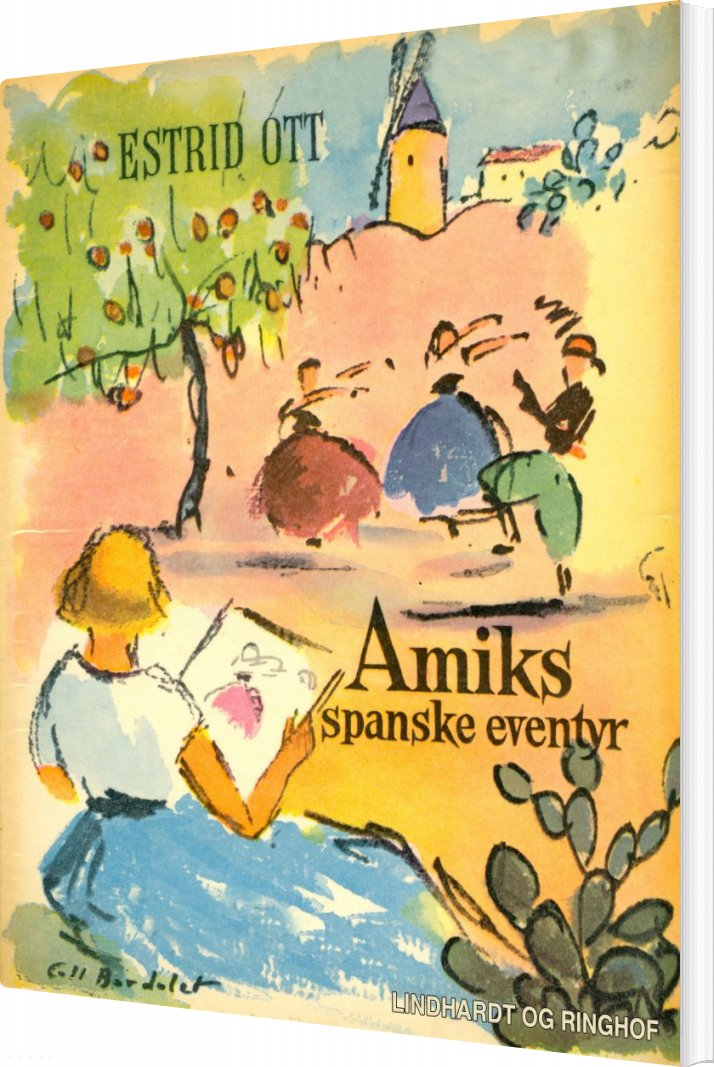 Image of   Amiks Spanske Eventyr - Estrid Ott - Bog