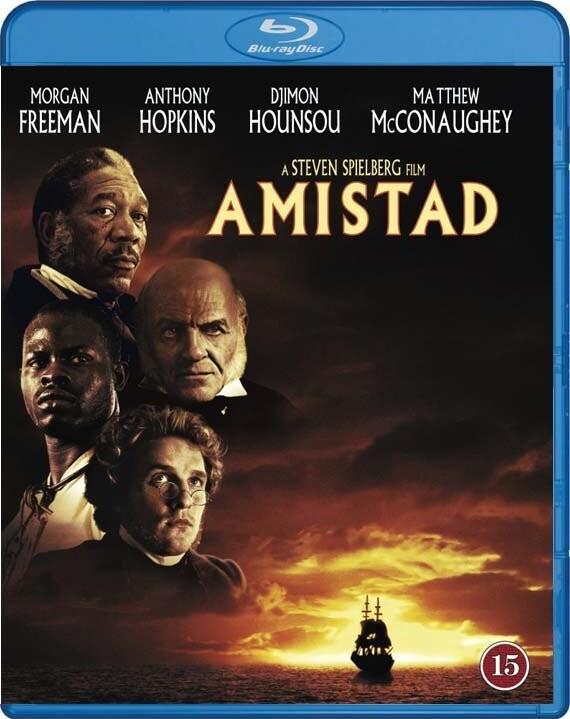 Image of   Amistad - Blu-Ray