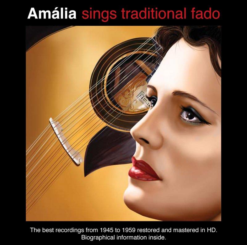 Image of   Amalia Rodrigues - Amália Sings Traditional Fado - CD
