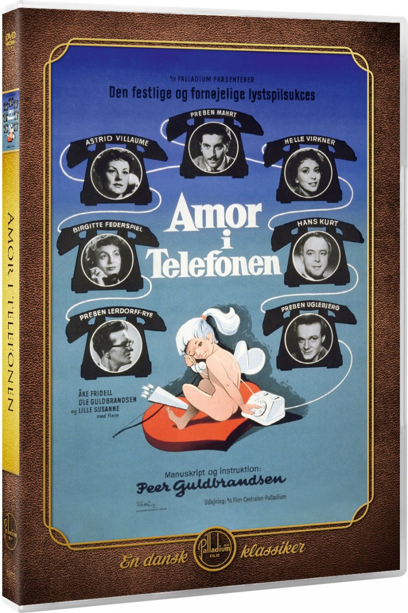 Image of   Amor I Telefonen - DVD - Film