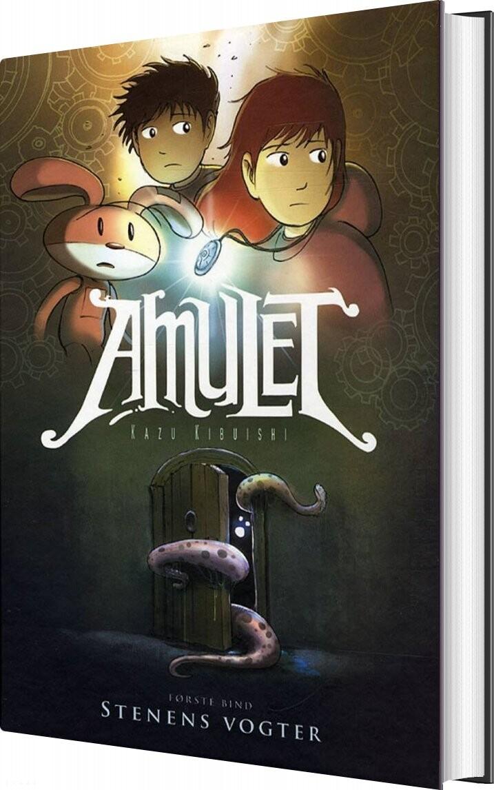 Image of   Amulet 1 - Stenens Vogter - Kazu Kibuishi - Bog