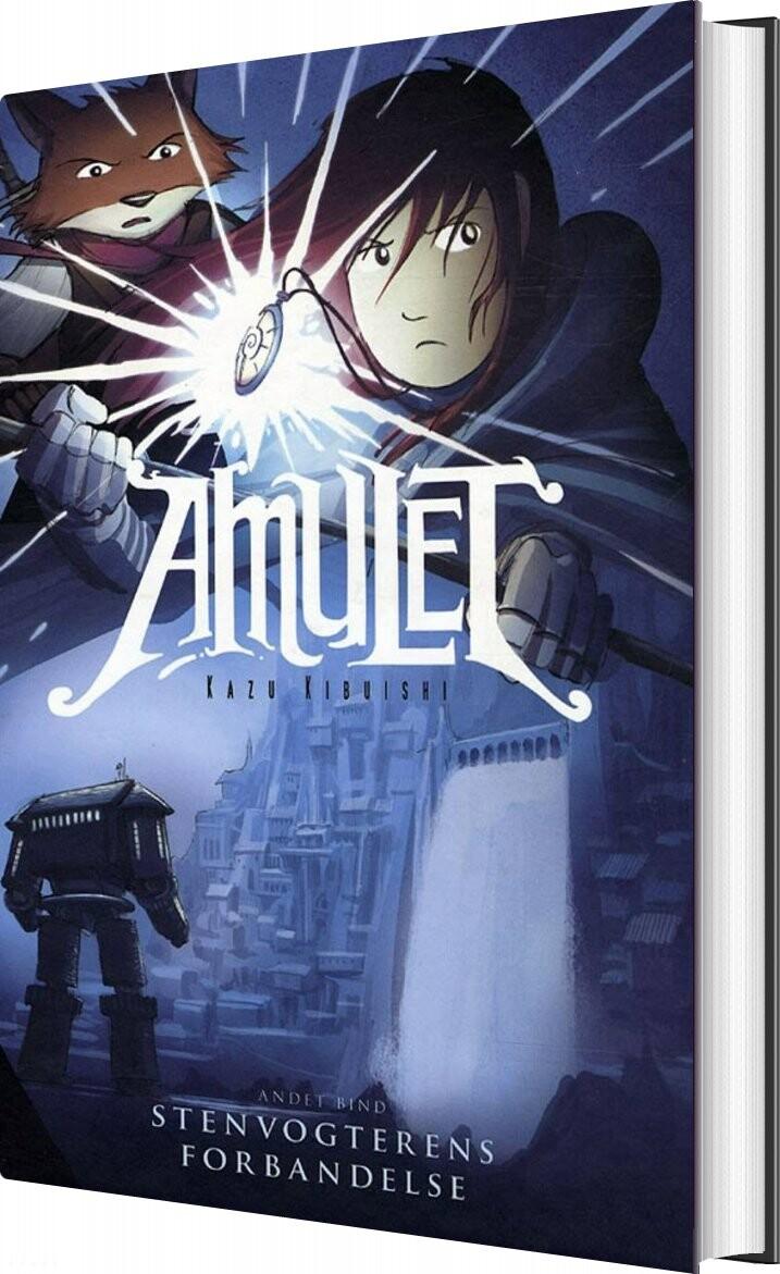 Image of   Amulet 2 - Stenvogterens Forbandelse - Kazu Kibuishi - Bog