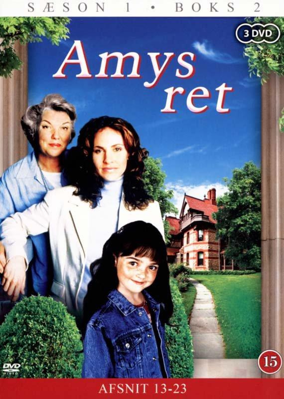 Image of   Amys Ret - Sæson 1 - Boks 2 - DVD - Tv-serie