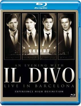 Billede af An Evening With Il Divo Live In Barcelona - Blu-Ray