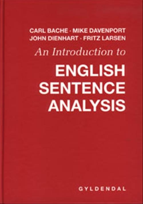 Image of   An Introduction To English Sentence Analysis - Mike Davenport - Bog