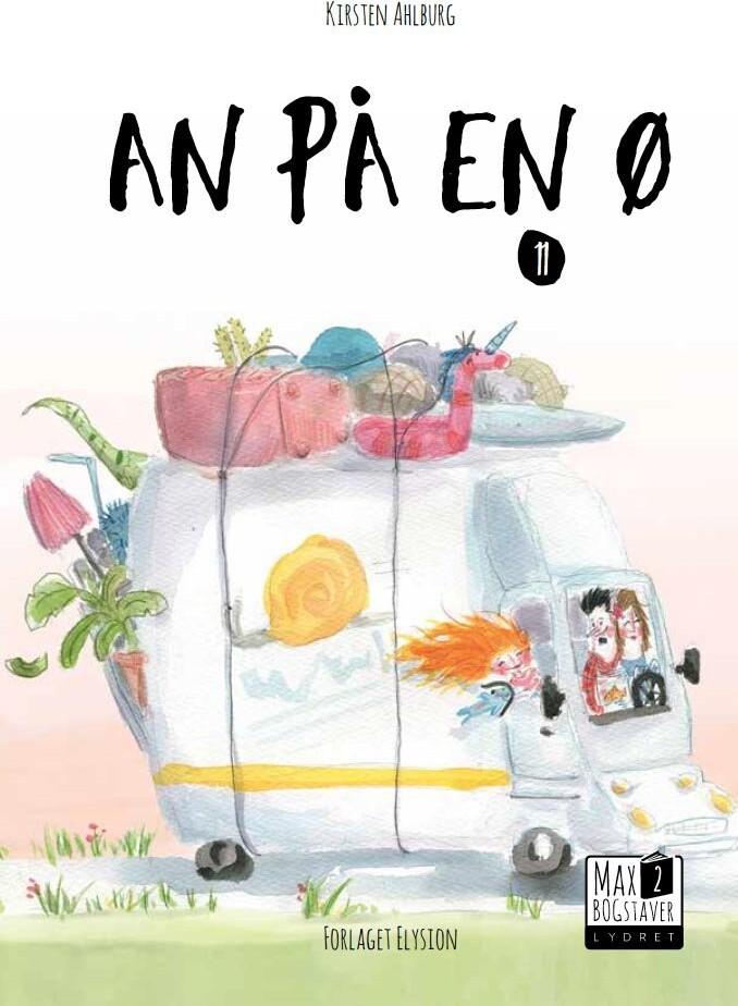 Image of   An På En ø - Kirsten Ahlburg - Bog