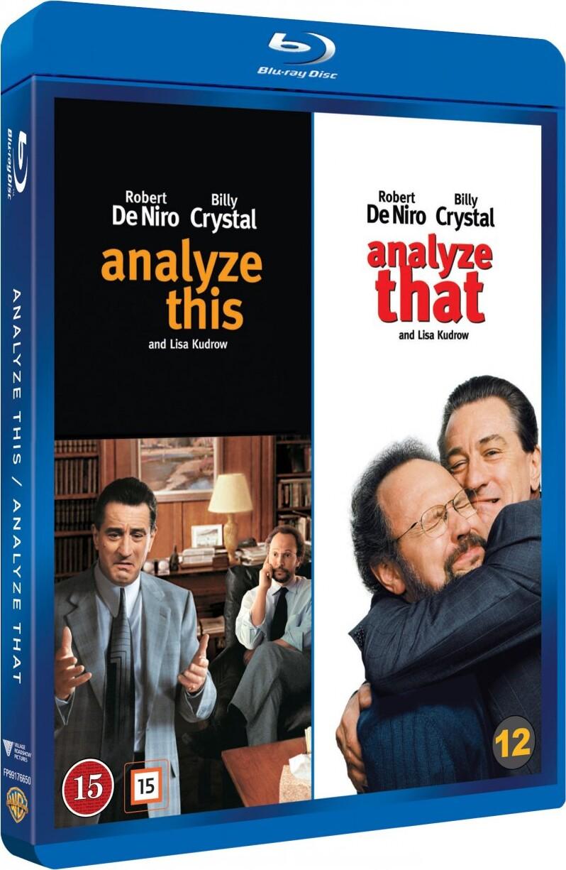 Image of   Analyze This // Analyze That - Blu-Ray