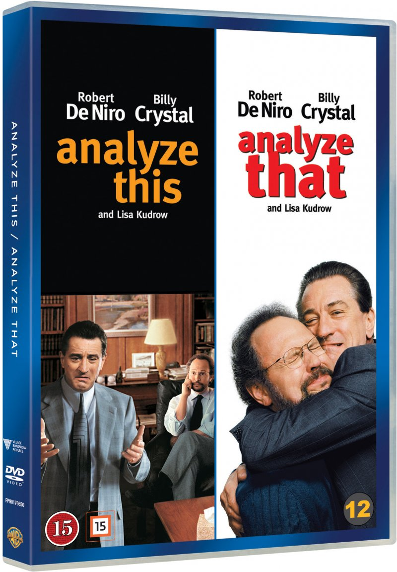 Image of   Analyze This // Analyze That - DVD - Film