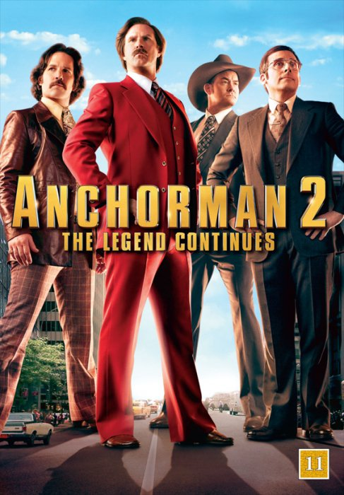 Image of   Anchorman 2 - DVD - Film