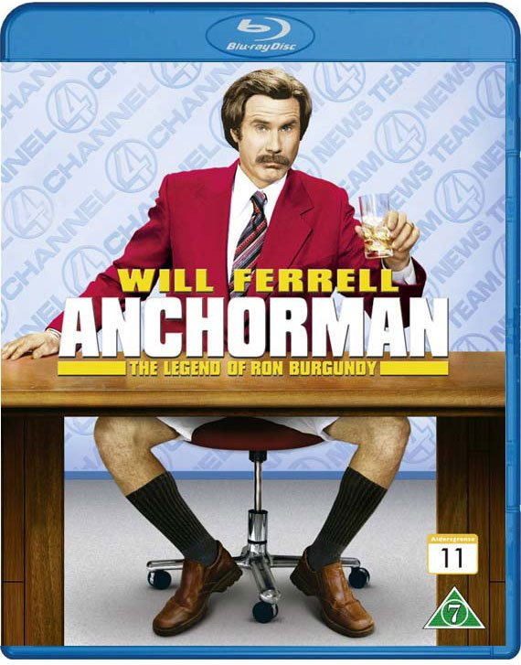 Image of   Anchorman - Blu-Ray
