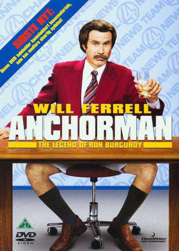 Image of   Anchorman - The Legend Of Ron Burgundy - DVD - Film