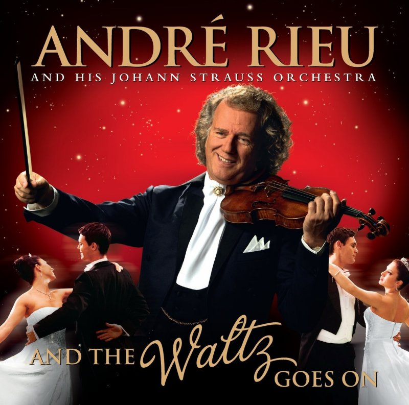 Image of   Andre Rieu - And The Waltz Goes On - CD