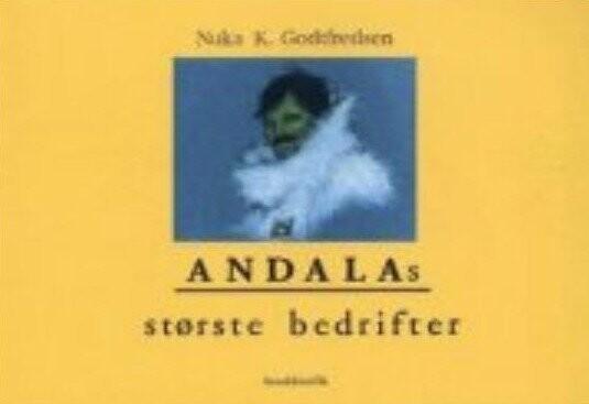Image of   Andalas Største Bedrifter - Forfatter - Tegneserie