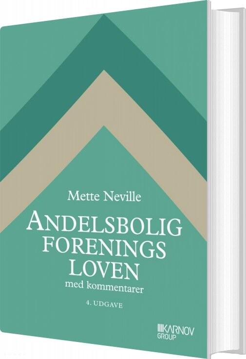 Image of   Andelsboligforeningsloven - Mette Neville - Bog