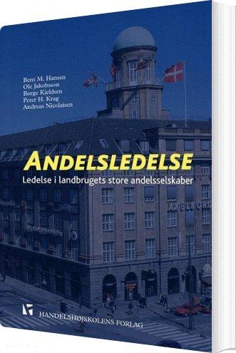 Image of   Andelsledelse - Bent Hansen - Bog