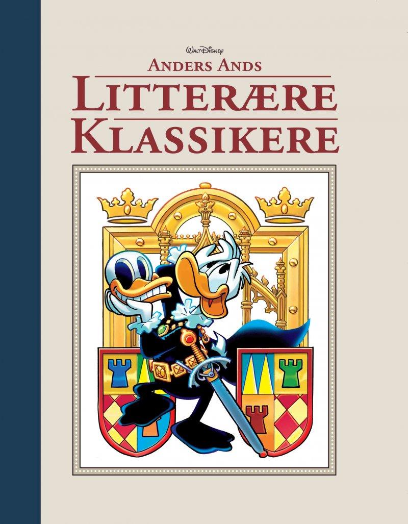Image of   Anders Ands Litterære Klassikere - Disney - Tegneserie