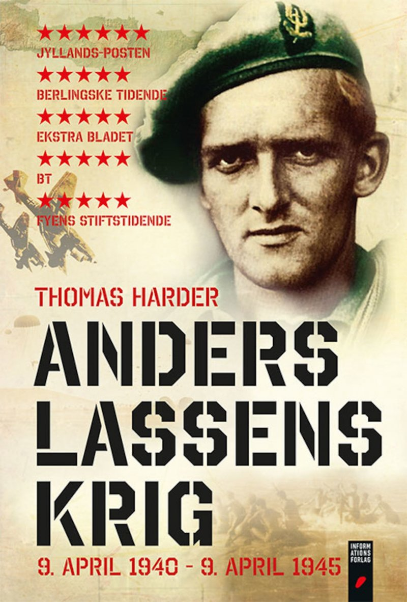 Image of   Anders Lassens Krig - Thomas Harder - Bog