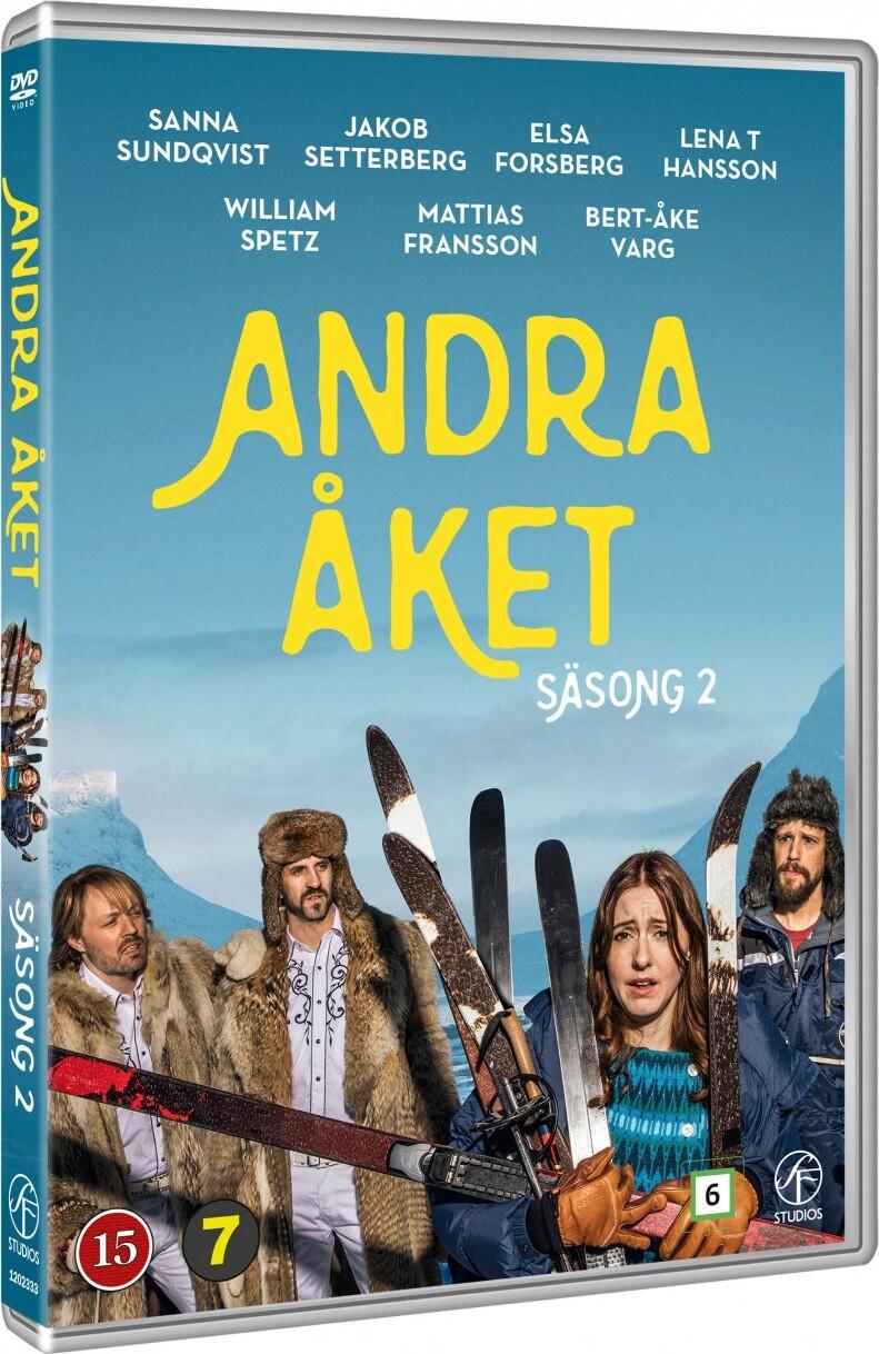 Image of   Andet Gennemløb - Sæson 2 - DVD - Tv-serie