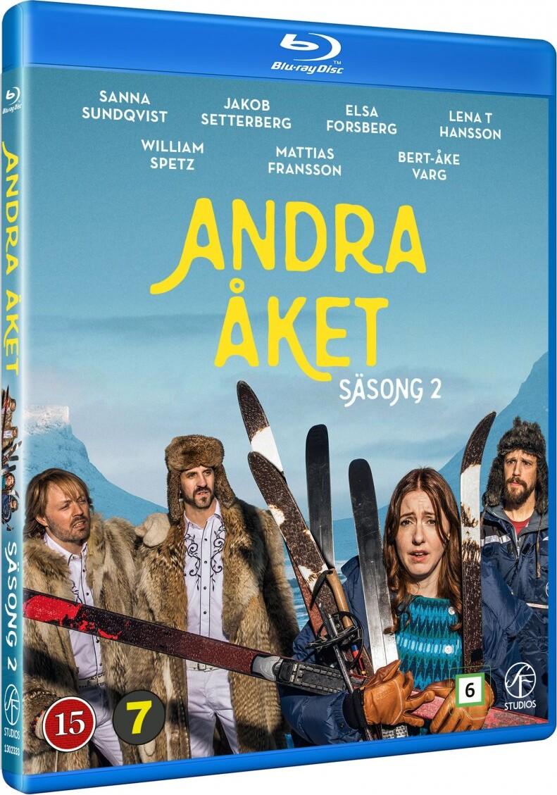 Image of   Andet Gennemløb - Sæson 2 - Blu-Ray - Tv-serie