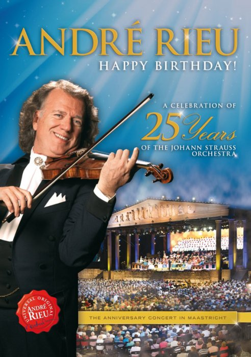 Image of   Andre Rieu - Happy Birthday - DVD - Film