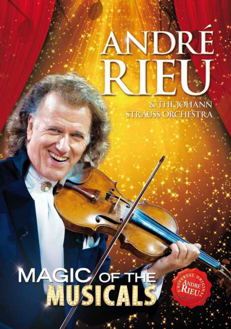 Image of   Andre Rieu - Magic Of Musicals - DVD - Film