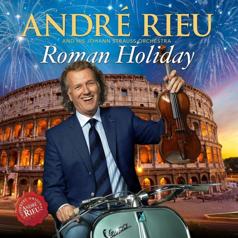 Image of   Andre Rieu - Roman Holiday - CD