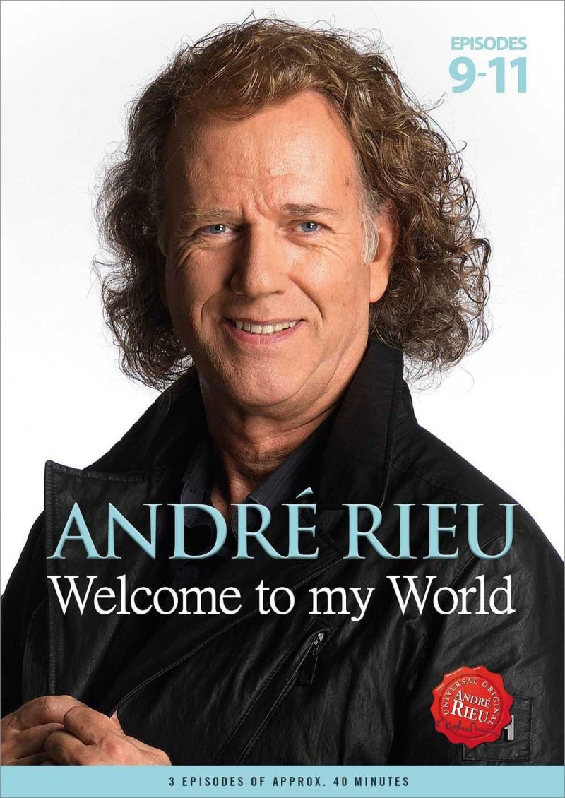 Image of   Andre Rieu: Welcome To My World Episode 9-11 - DVD - Film