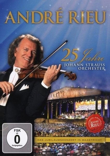 Image of   Andre Rieu - 25 Jahre Strauss Orchester - DVD - Film