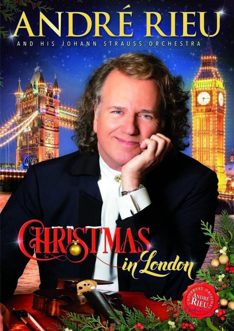 Image of   Andre Rieu - Christmas Forever - Live In London - Blu-Ray
