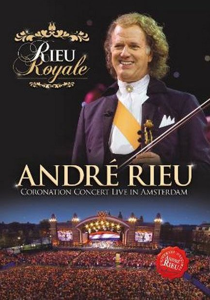 Image of   Andre Rieu - Coronation Concert Live In Amsterdam - DVD - Film