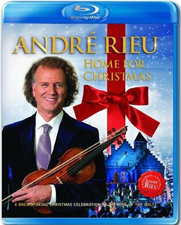 Billede af Andre Rieu - Home For Christmas - Blu-Ray