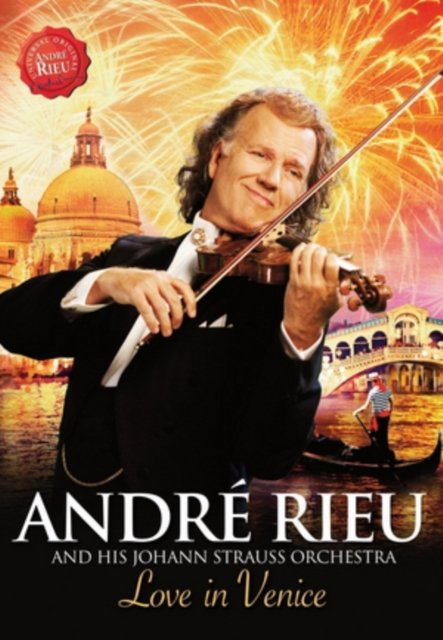 Image of   Andre Rieu - Love In Venice - DVD - Film