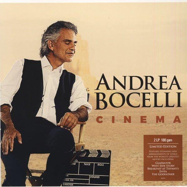 Image of   Andrea Bocelli - Cinema - Deluxe Edition - Vinyl / LP