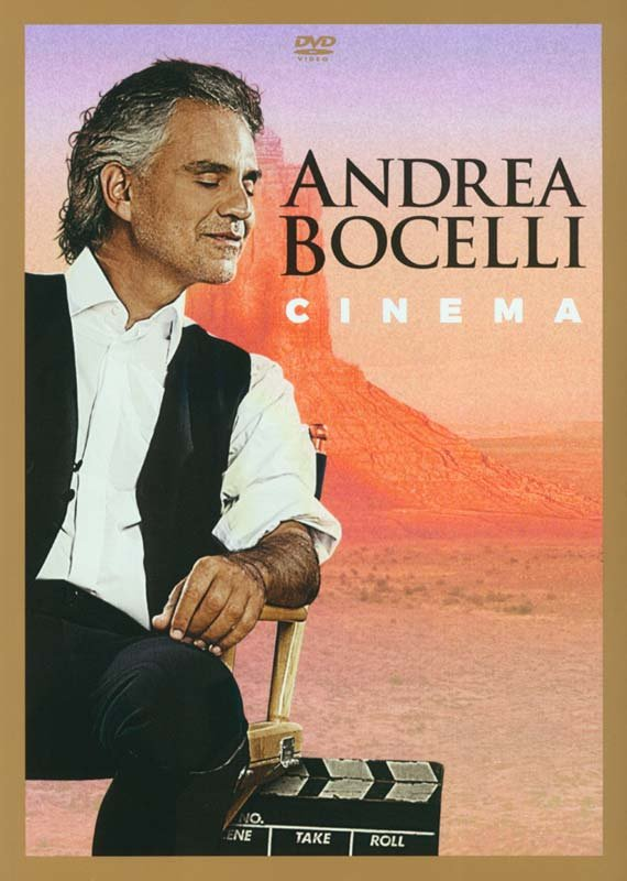 Image of   Andrea Bocelli - Cinema - DVD - Film