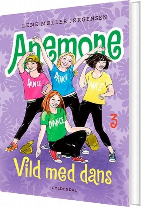 Image of   Anemone 3 - Vild Med Dans - Lene Møller Jørgensen - Bog
