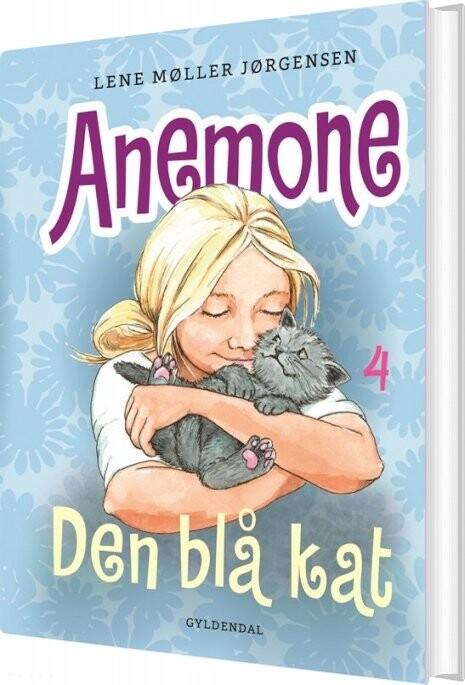 Image of   Anemone 4 - Den Blå Kat - Lene Møller Jørgensen - Bog