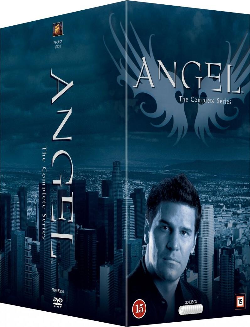 Image of   Angel Komplet Box - Sæson 1-5 - DVD - Tv-serie