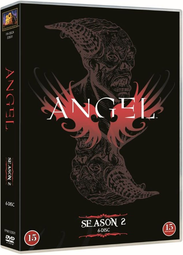 Image of   Angel - Sæson 2 - DVD - Tv-serie