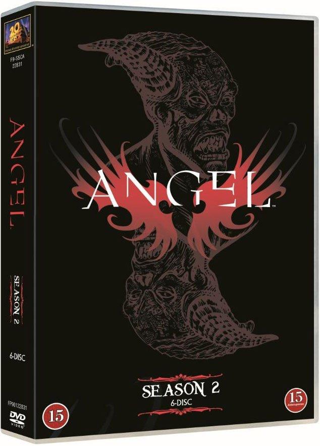 Image of   Angel - Sæson 2 - DVD - Tv-serie