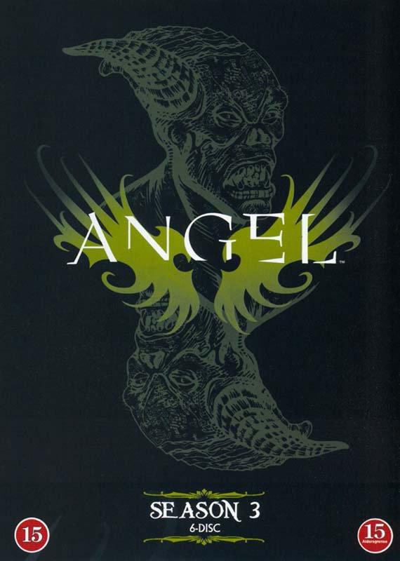 Image of   Angel - Sæson 3 - DVD - Tv-serie